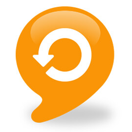 Circular arrow icon