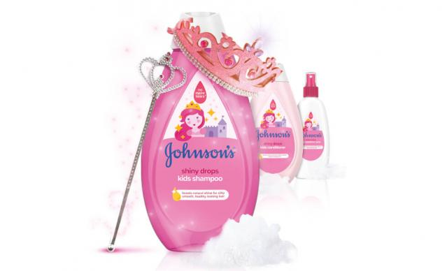 johnsons kids shiny drops collection