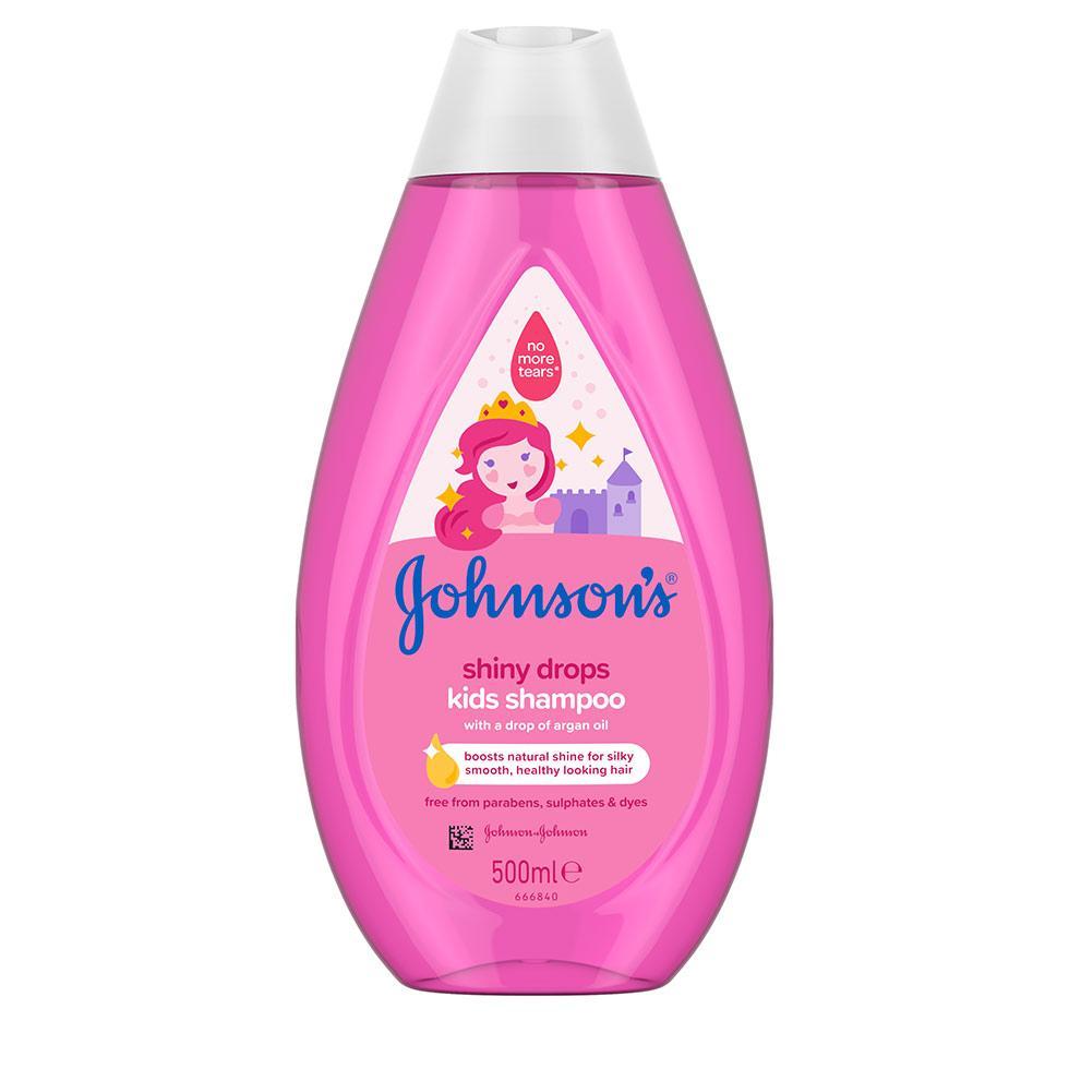 JOHNSON'S® šampon za decu sjajne kapljice